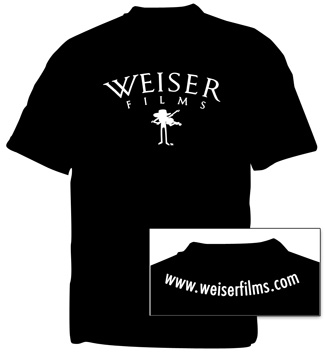 Weiser Films Fiddle T-Shirt - Black, photo