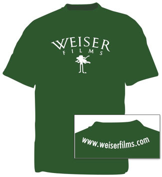 Weiser Films Fiddle T-Shirt - Forest Green, photo